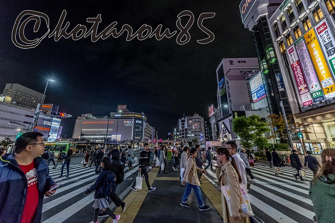 日曜日の錦糸町 20181112