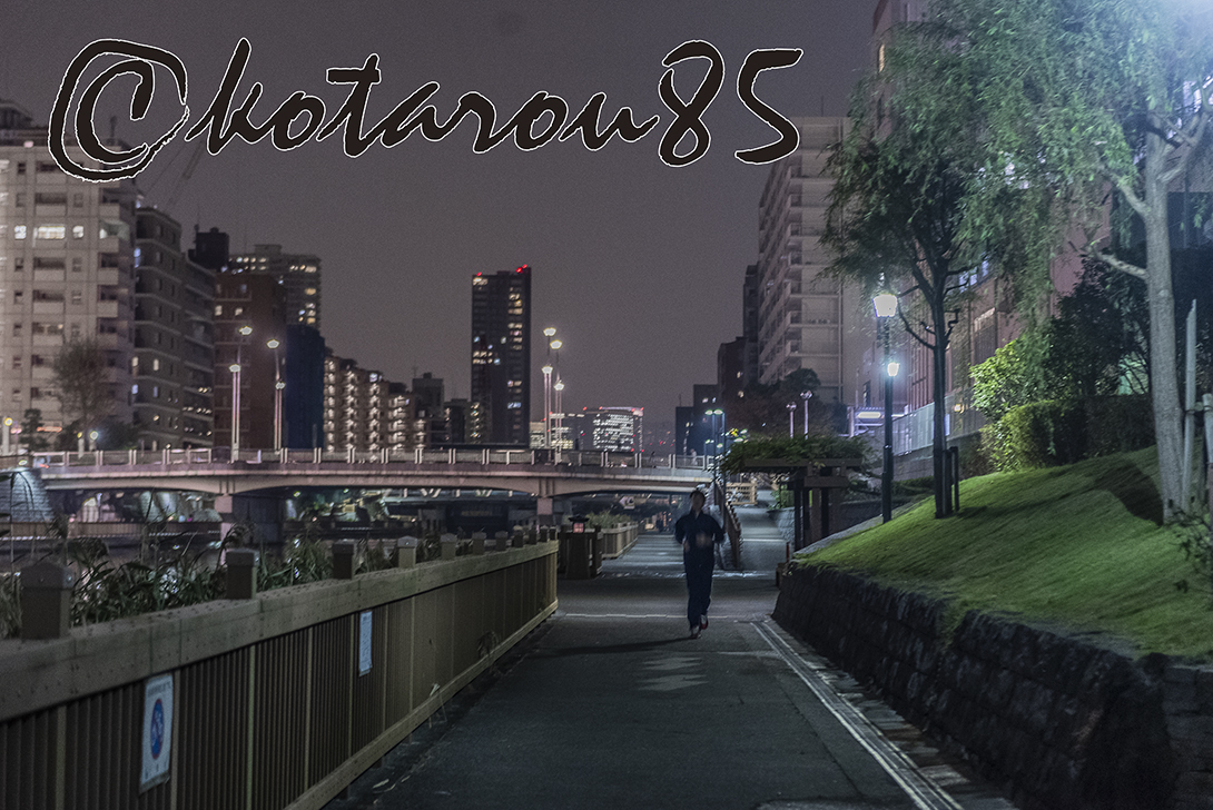 小名木川ナイトジョギング 20181113