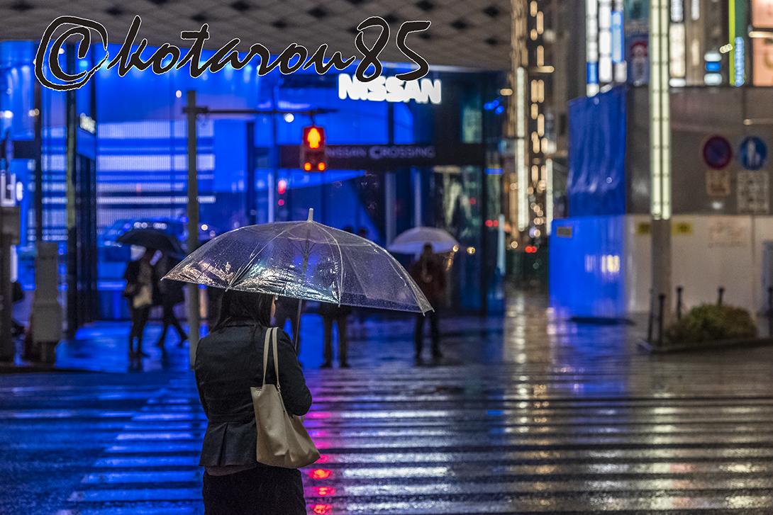 雨の四丁目交差点2 20181120
