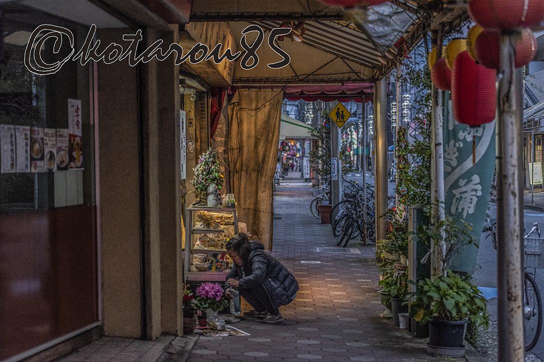 下町の商店街 20181130
