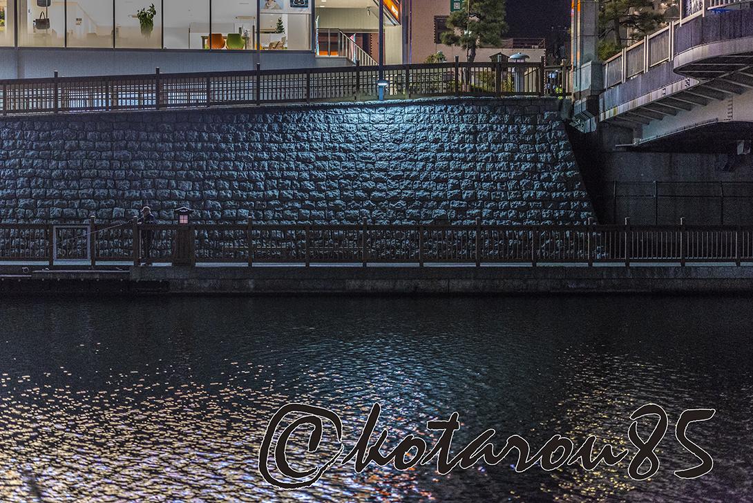 夜の小名木川 20181210