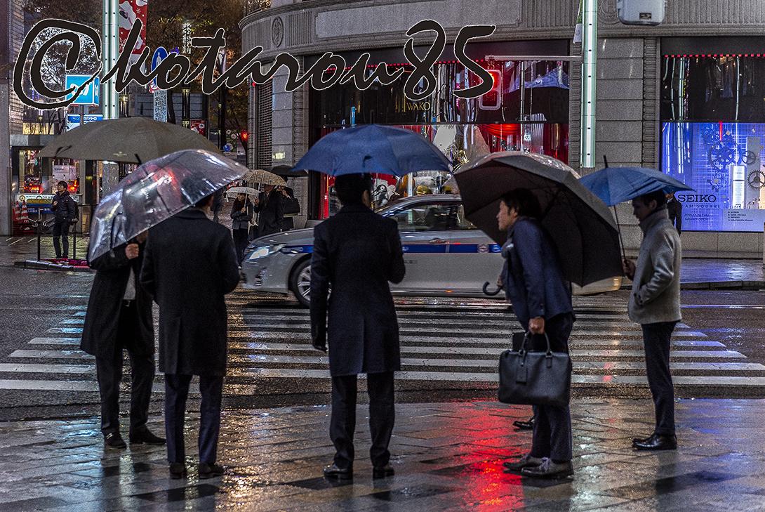 雨の四丁目交差点2 20181212