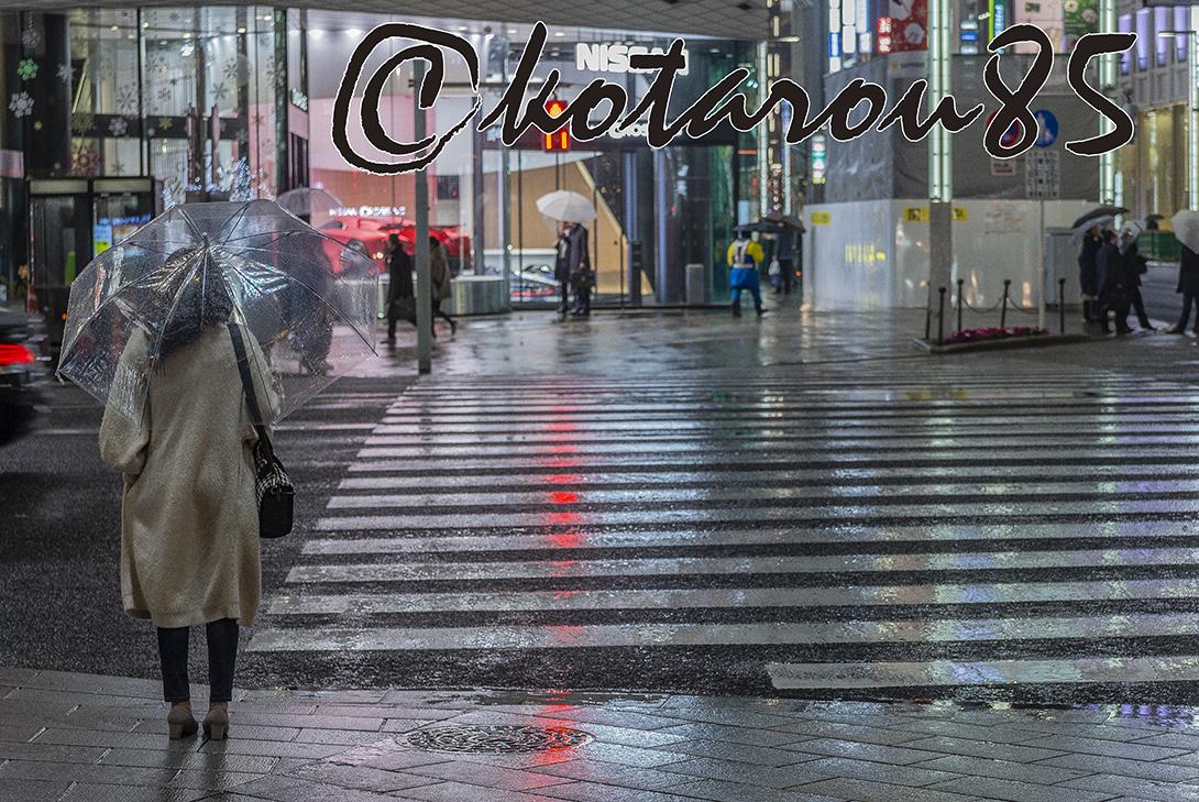雨の四丁目交差点3 20181212