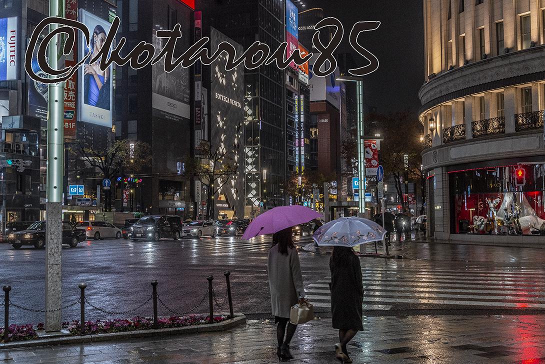 雨の四丁目交差点5 20181212