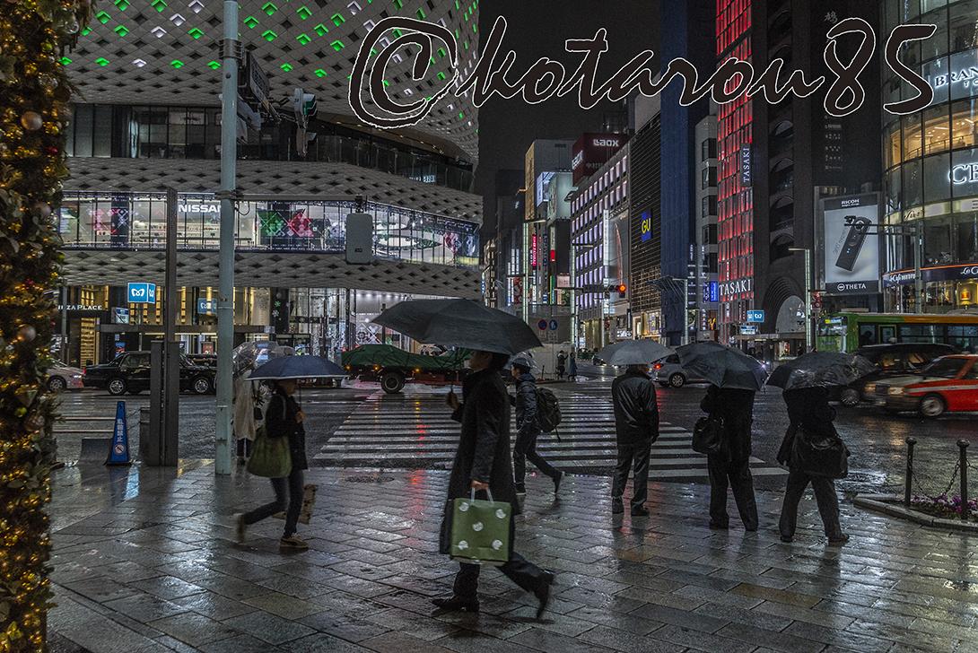 雨の四丁目交差点6 20181212