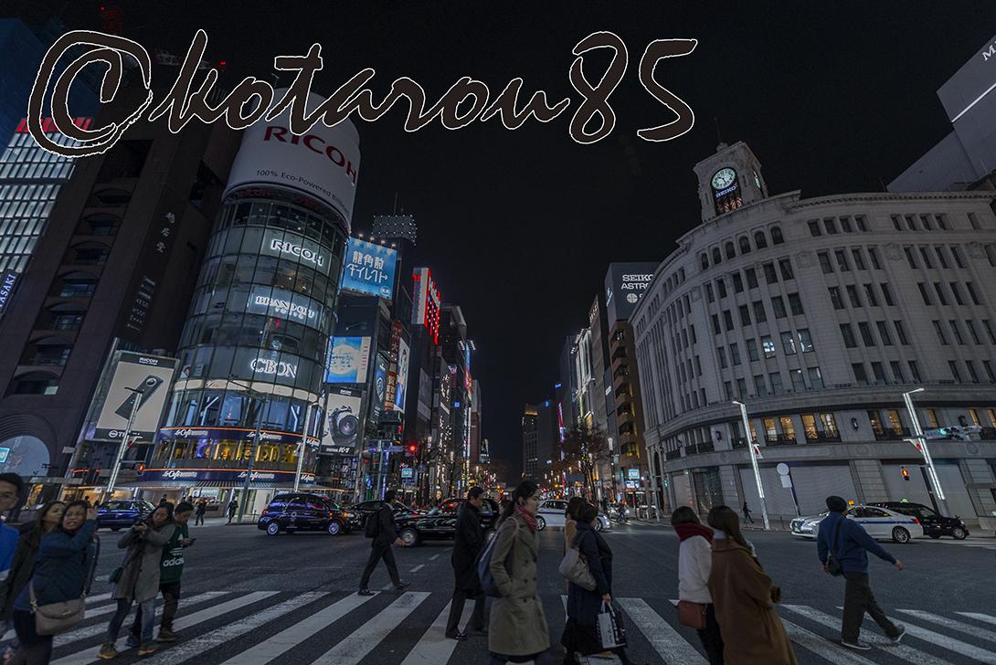 年の瀬・四丁目交差点 20181227
