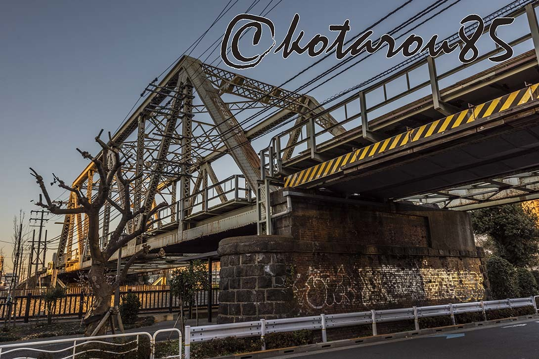 新春の運河5 20190105