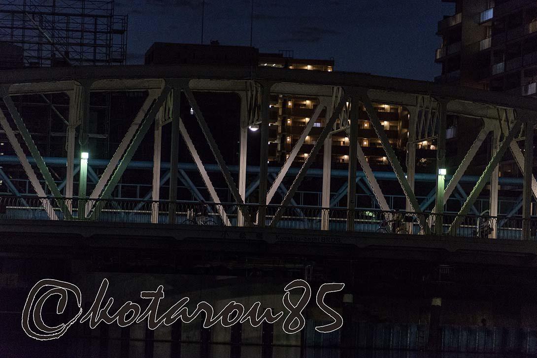 冬の小松橋 20190109