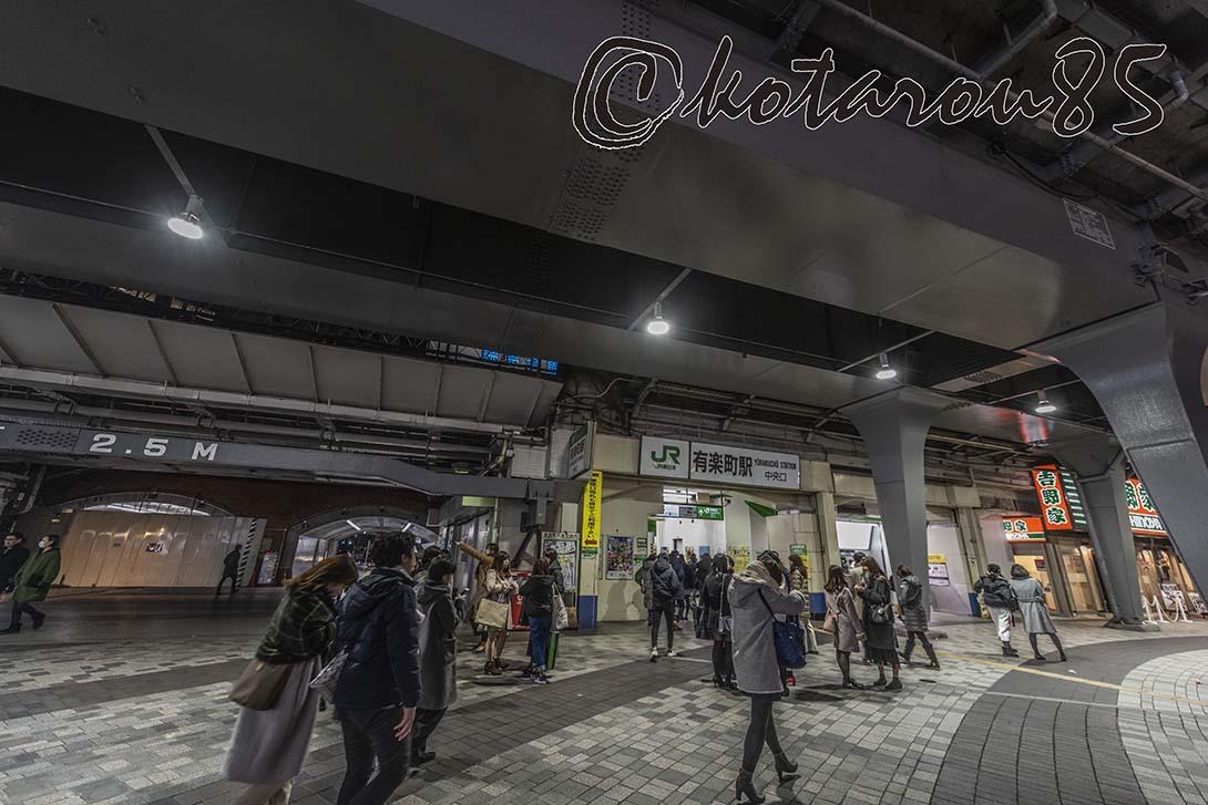 有楽町駅から東京駅へ 20190115