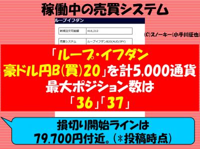 20170707ループ・イフダン検証豪ドル円ロング