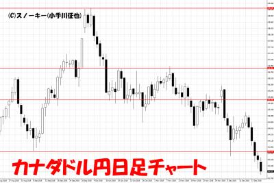20181220カナダドル円日足チャート
