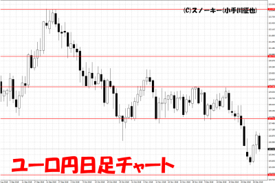 20181229ユーロ円日足チャート