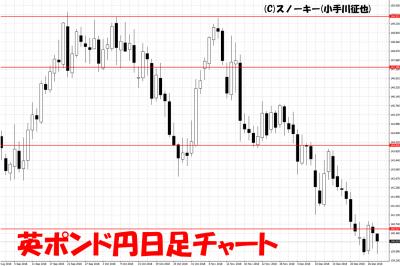 20181229英ポンド円日足チャート