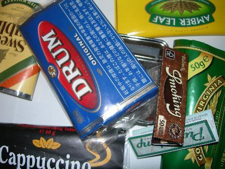 手巻きタバコ INDEX表紙
