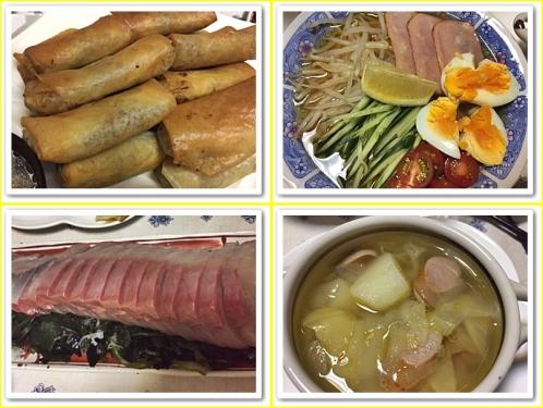 中華の夕飯