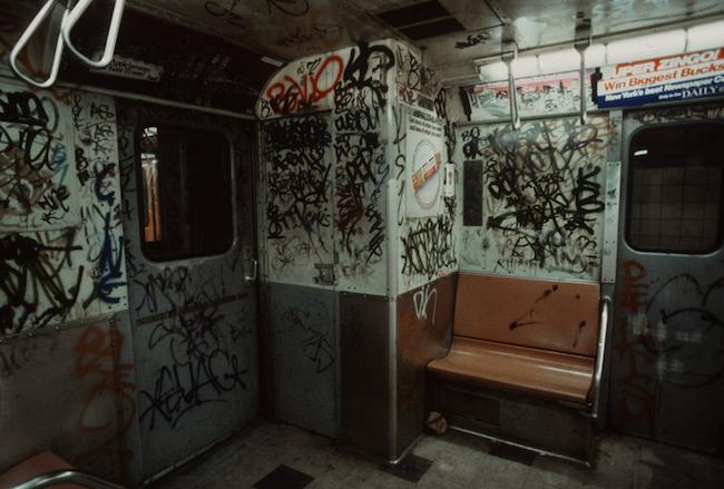 NYC SUBWAY 1981 14