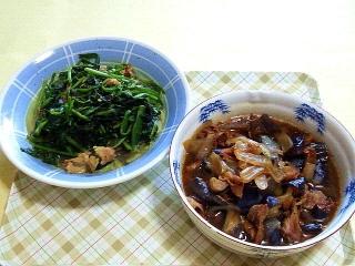 170526_4663 豚肉とほうれん草のソテー・豚コマと茄子の黒酢煮VGA