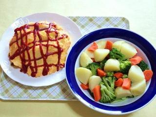 170707_4758 オムライス・温野菜サラダVGA