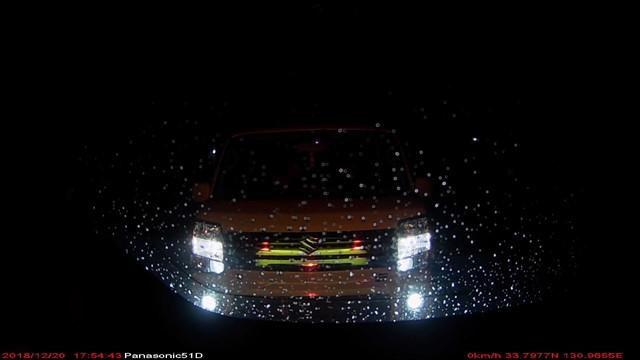 眩しいスズキの軽ワゴン-1