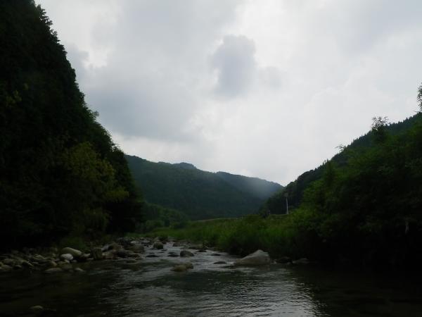 祓川の昔の景色