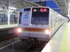 08S清瀬回送列車