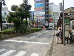 亀戸駅東側乗り場