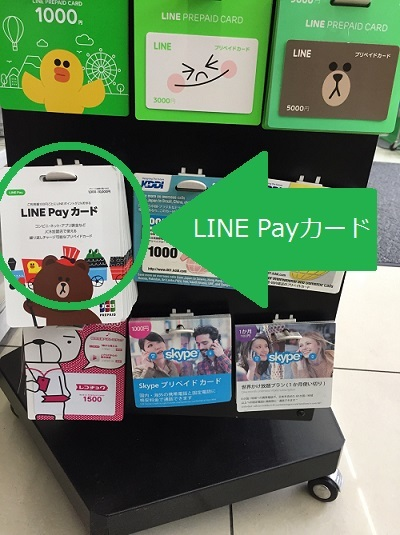 LINE PayカードとLINE PREPAID CARD