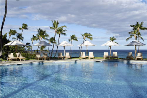 マウナケアビーチホテルのプール