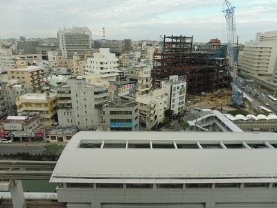 12階の部屋からの眺め
