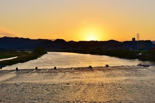 鮎釣り船 (2)