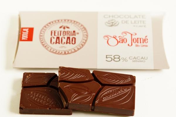 【FEITORIA DO CACAO】Sao Tome Rio Lima 58%+CAFE