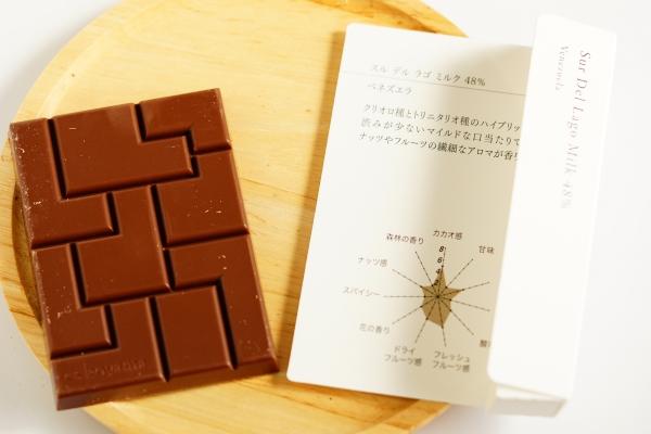 【PATISSIER eS KOYAMA】スル・デル・ラゴ・ミルク48%【Spirit of Cacao】