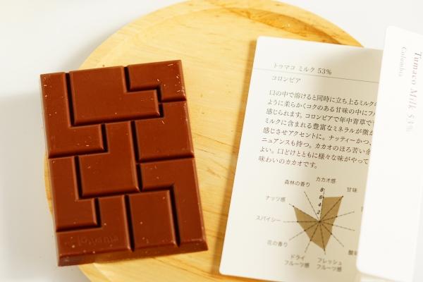【PATISSIER eS KOYAMA】トゥマコ・ミルク53%【Spirit of Cacao】