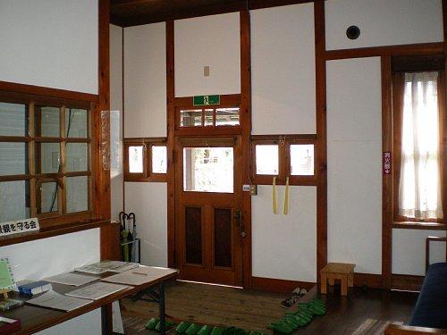 旧後藤医院・待合室2