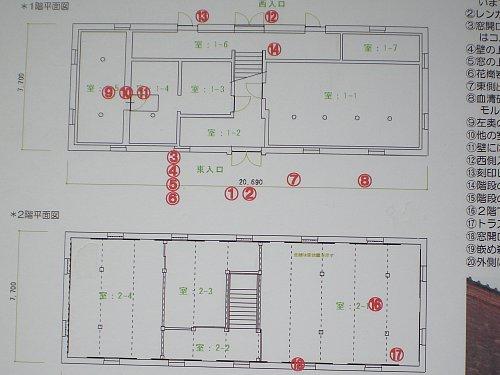 国府台旧陸軍武器庫・平面図
