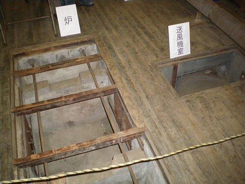日野桑園第一蚕室・炉