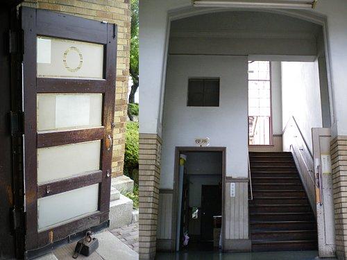 旧岡谷市役所・左玄関