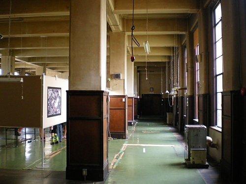 旧岡谷市役所・事務室