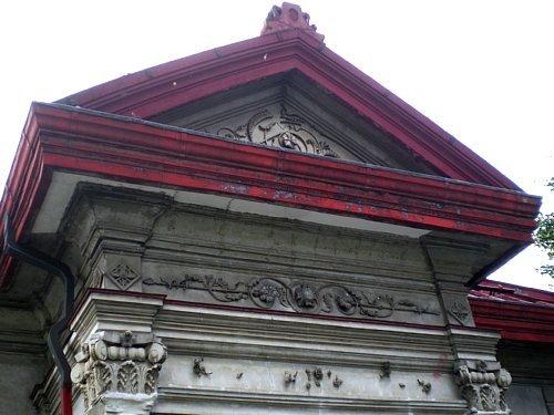 旧林家住宅・洋館装飾1