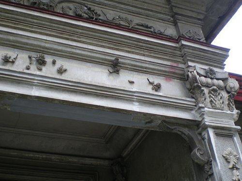 旧林家住宅・洋館装飾2