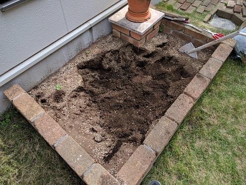 線虫退治で菜園の土壌を熱殺菌