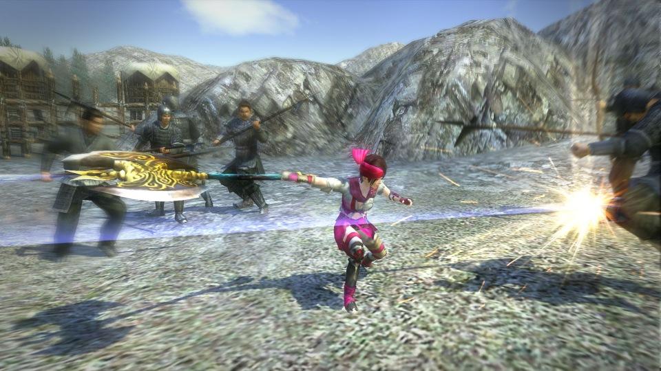 基本プレイ無料の一騎当千MMOアクションオンラインゲーム『新・三國無双Online Z』 典韋の「手斧」や新服飾・気鋭荒賊服を追加する5月アップデートを実施したよ~!! 新作オンラインゲーム情報EX