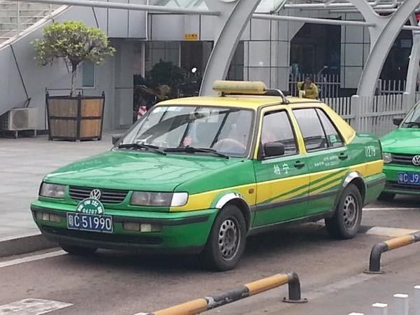 20170707 中国のタクシー