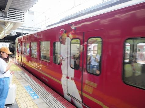 JR 山陽本線 115系 「カープ応援ラッピングトレイン2017」