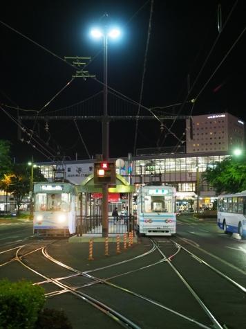 岡山電気軌道 7300形&7900形 電車【岡山駅前停留場】