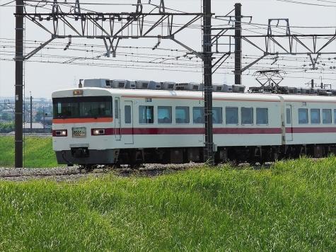 東武日光線 350系 特急きりふり 281号【利根川橋梁付近】