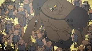 土蜘蛛コロニーの軍勢