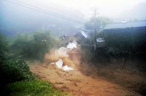 福岡で豪雨
