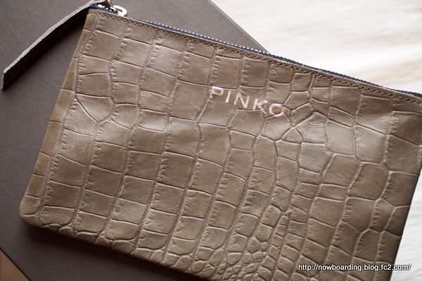PINKO 青山 クラッチバッグ