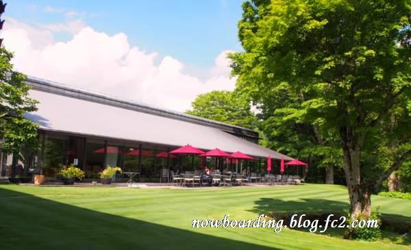 ラリック美術館 カフェ・レストランLYS(リス)